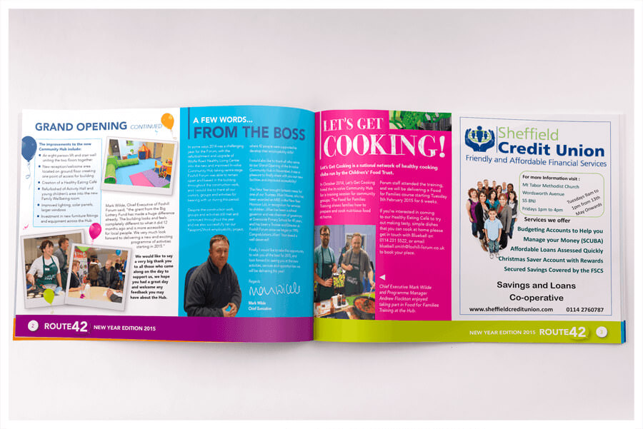 Photo of Foxhill Forum newsletter by Connect Creative Design in Barnsley