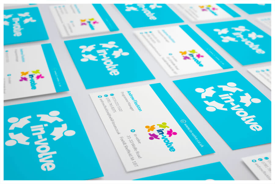 Photo of In-Volve business cards by Connect Creative Design in Barnsley