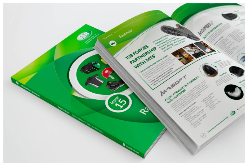 Photo of a printed brochure design designed by Connect Creative Design