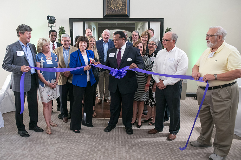 "Foundation Celebrates Office Opening and Its ""Roots in Community"""
