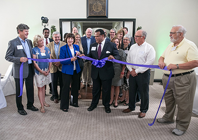 """Foundation Celebrates Office Opening and Its """"Roots in Community"""""""
