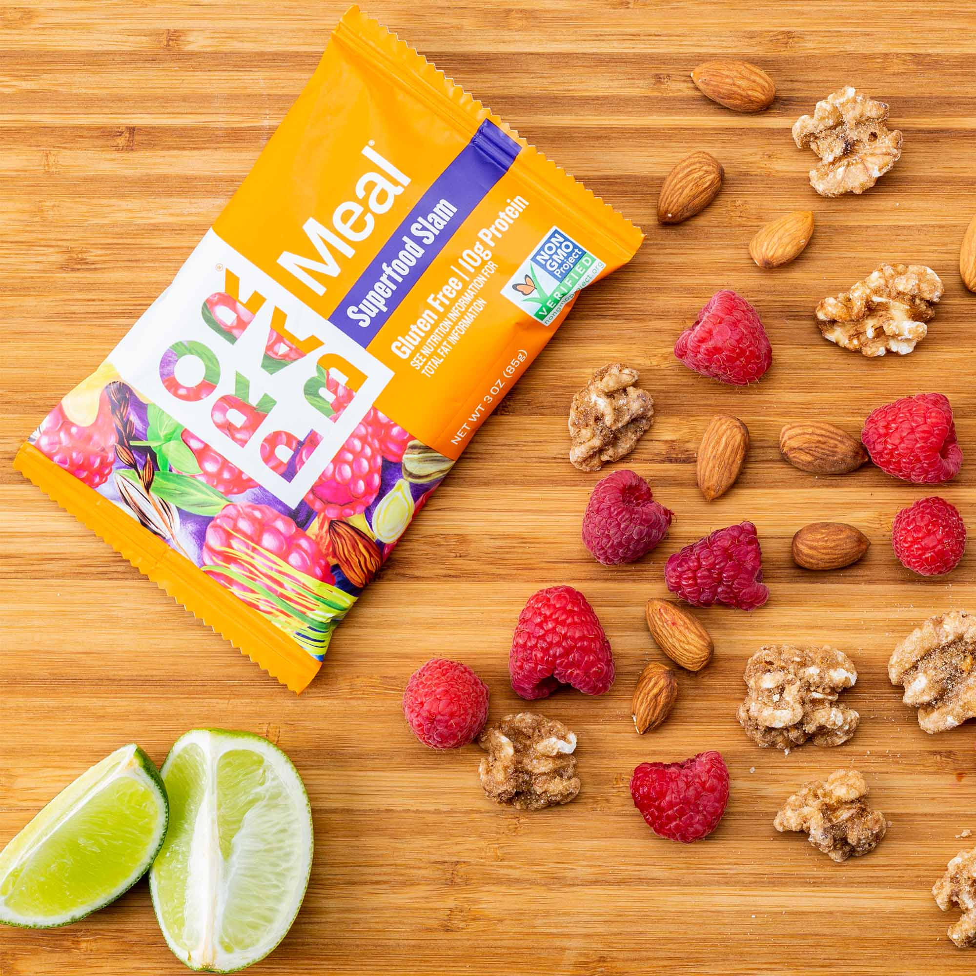 Creative In Studio Product Photography with Nutrition Bar