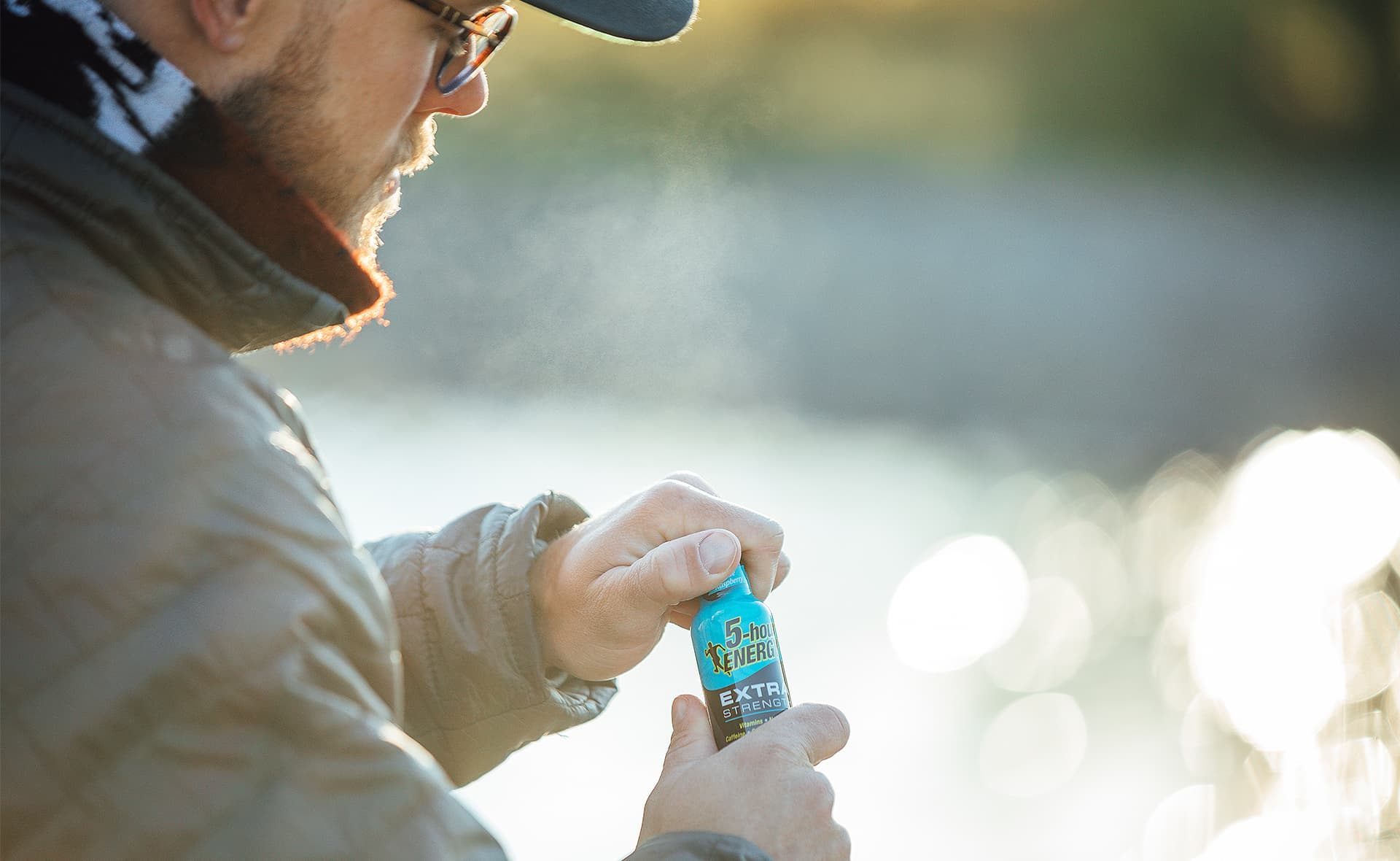 Lifestyle Product Photography with Male Model by Results Imagery