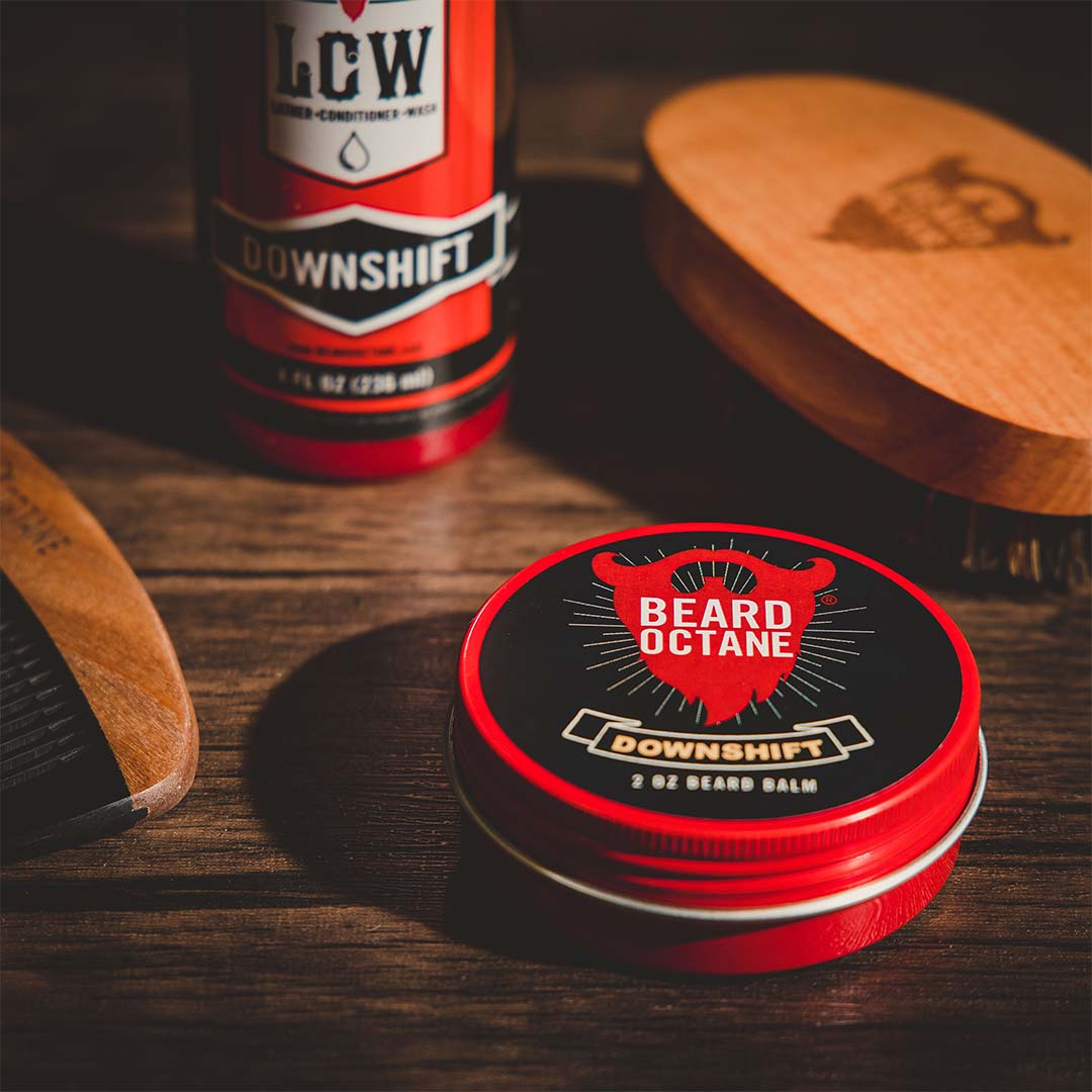 Creative In-Studio Beard Care Product Photography