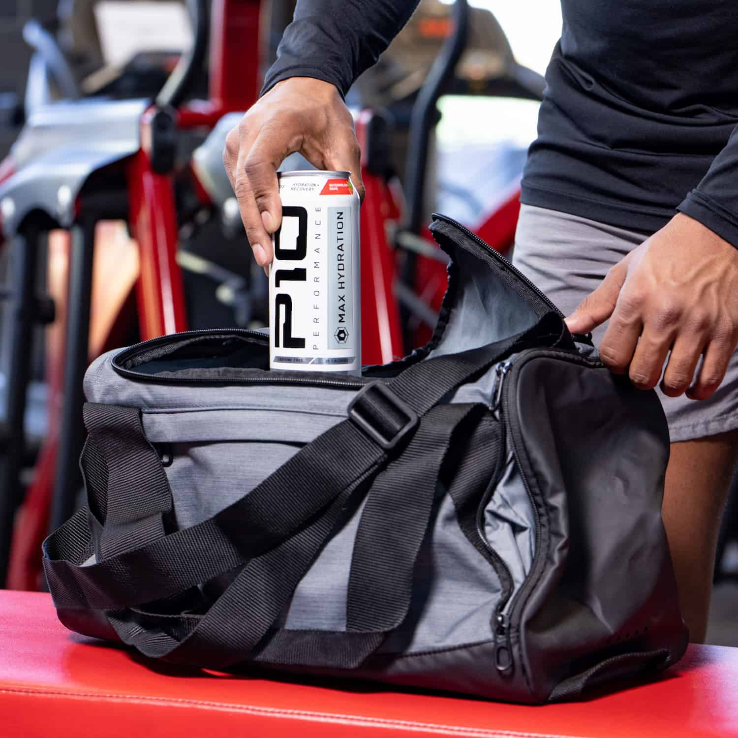 Lifestyle Product Photography for Sports Drink