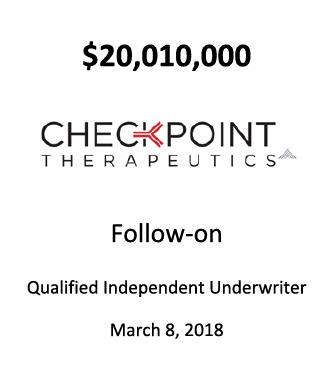 Checkpoint Therapeutics, Inc.