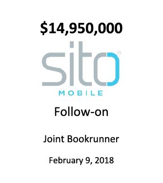 SITO Mobile, Ltd.