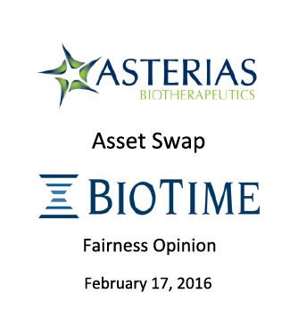 Asterias Biotherapeutics