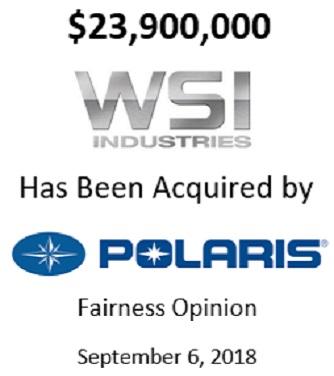 WSI Industries, Inc.