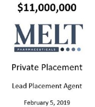 Melt Pharmaceuticals, Inc.