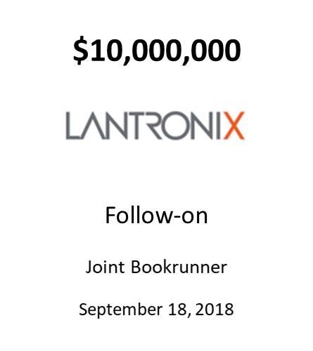 Lantronix, Inc.