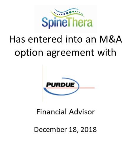 SpineThera, Inc.