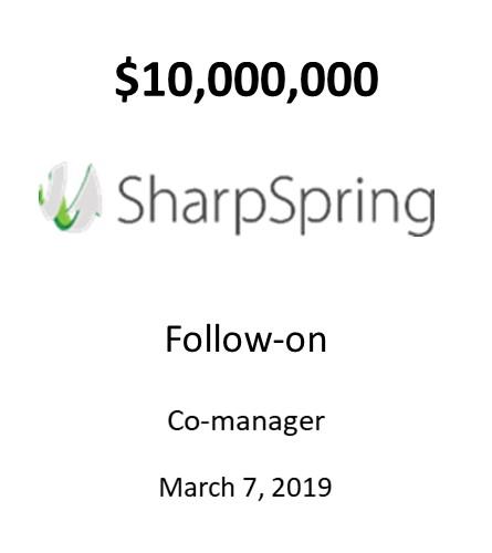 SharpSpring, Inc.