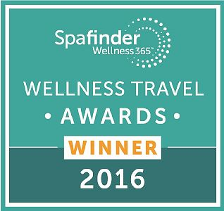 Spafinder Wellness Travel Awards 2016