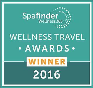Spafinder Wellness Travel Awards 2016