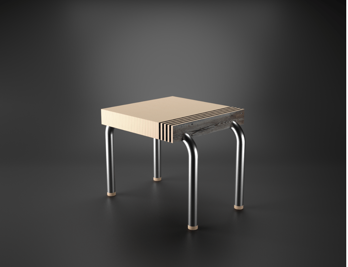 chair rendered