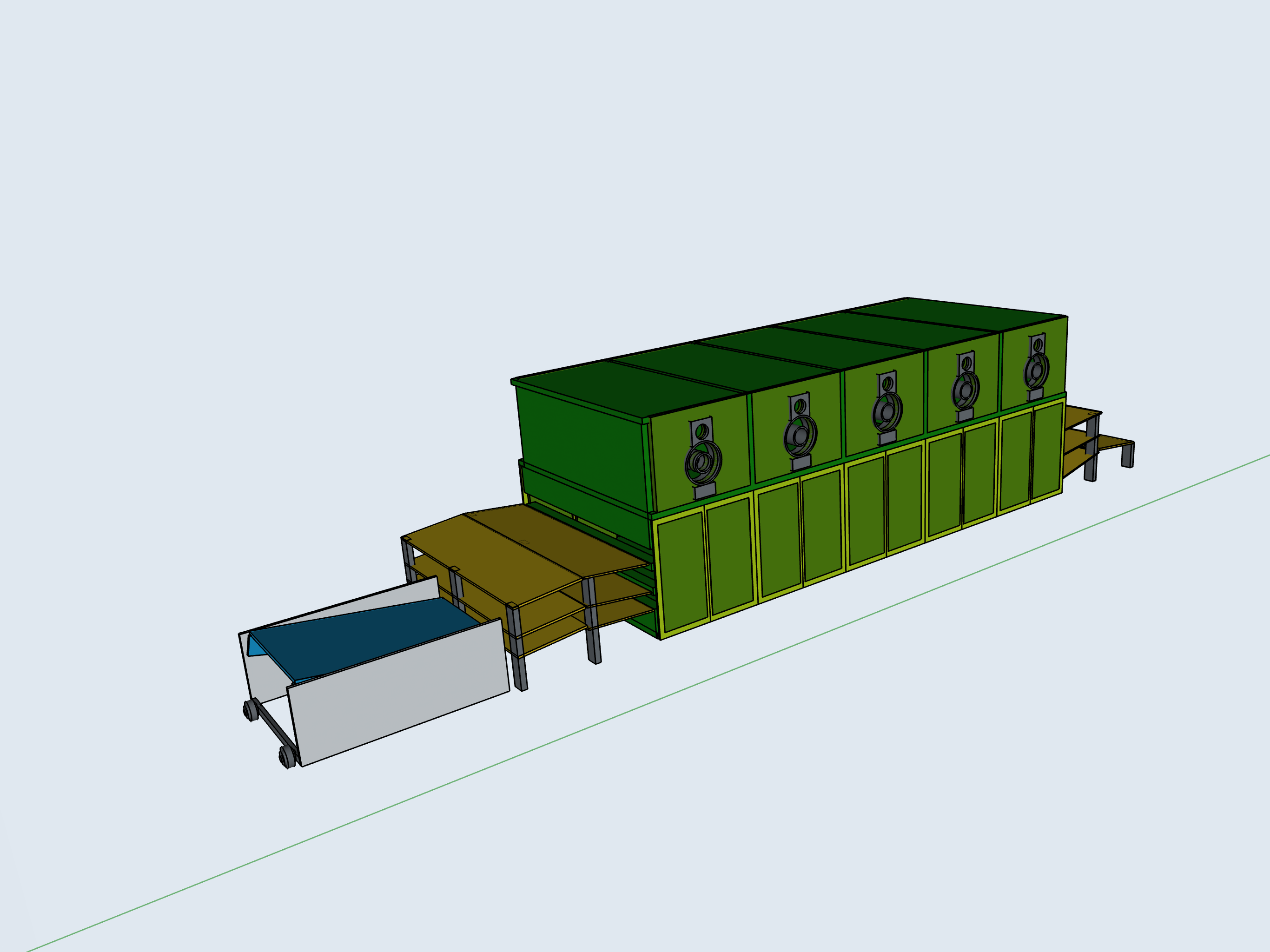 equipment 3d model engineering