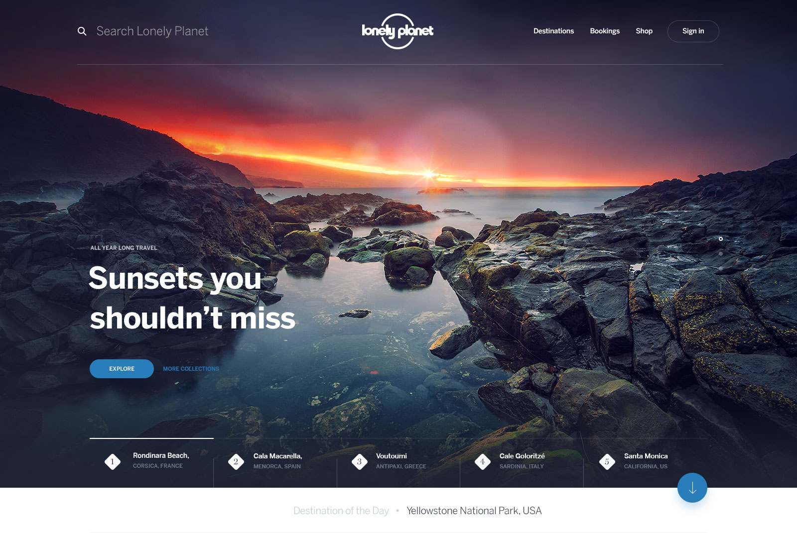 Lonely Planet Homepage