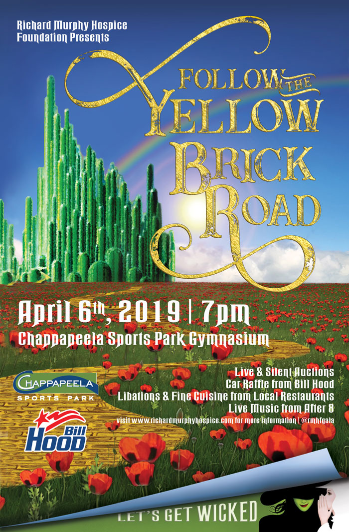 2019 Follow the Yellow Brick Road