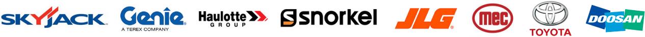 Aerial lift sales and rentals from Skyjack, Genie, Haulotte Group, Snorkel, JLG, MEC, Toyota and Doosan
