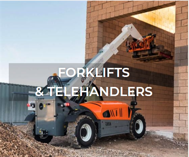Fork lift and telehandler  rentals and sales from Aerial Plus
