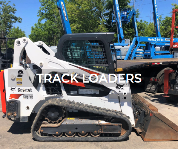 Track loader rentals and sales from Aerial Plus