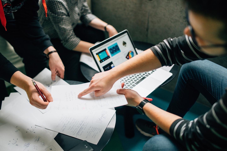 product design team meeting