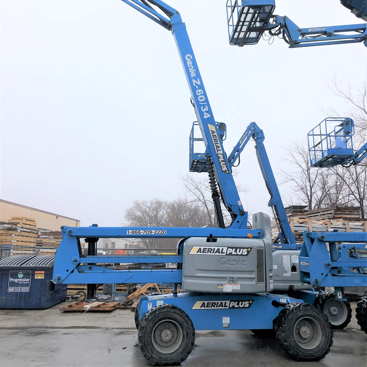60' Rough-Terrain 4x4 Articulating Boom Lifts (Genie Z60/34)