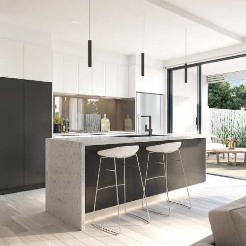 Photo of a Hansford Residences kitchen area