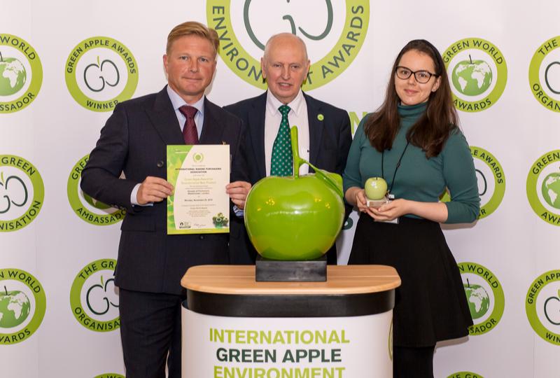 IMPA ACT wins International Green Apple Silver Award