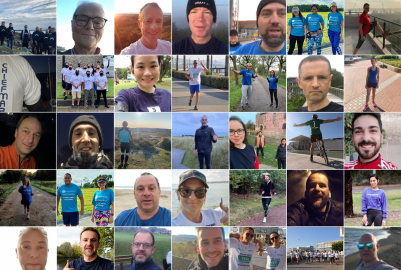 150+ people ran to say YES to sustainability. Did you?
