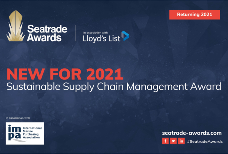 IMPA joins Seatrade for Sustainable Chain Management Award