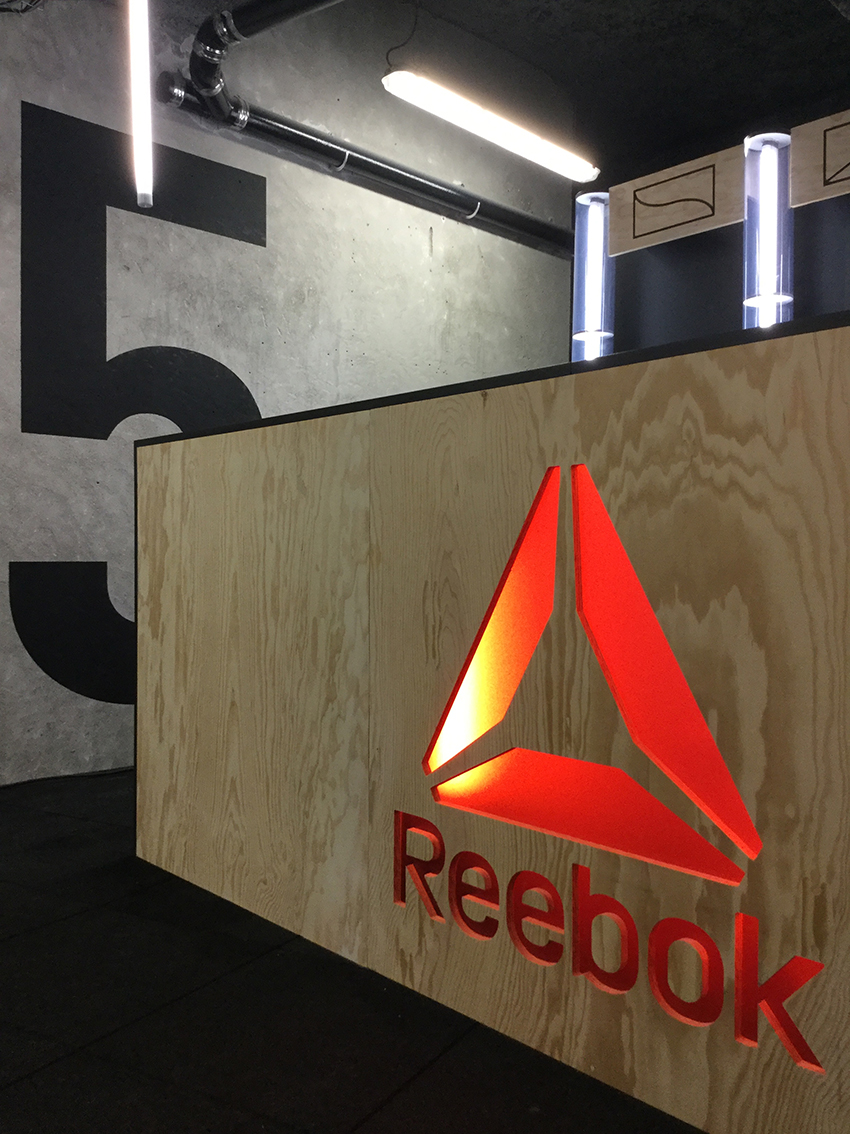 Reebok Bar à jus Paris Studio Trigone