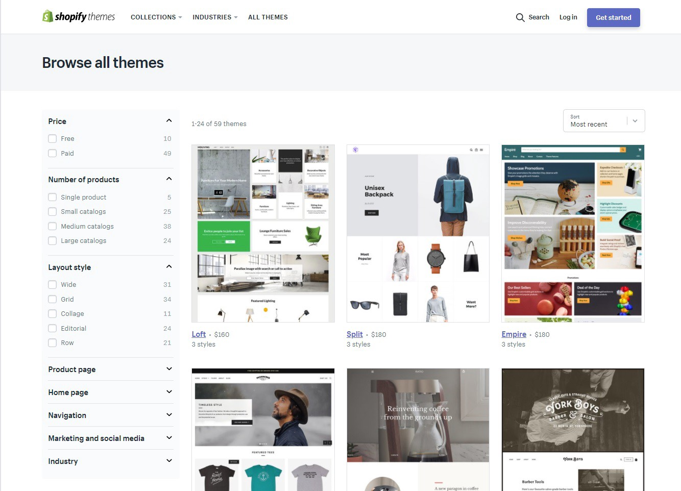 How to Find a Theme for your Shopify Store
