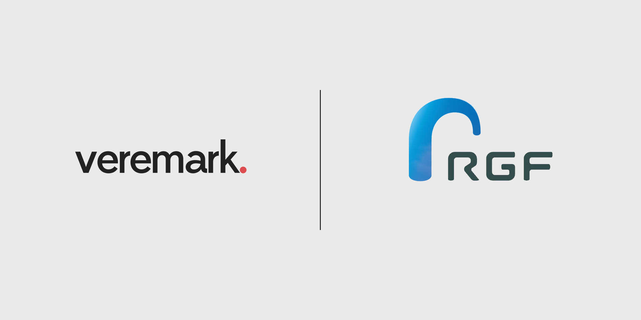 Veremark and RGF Logos next to each other