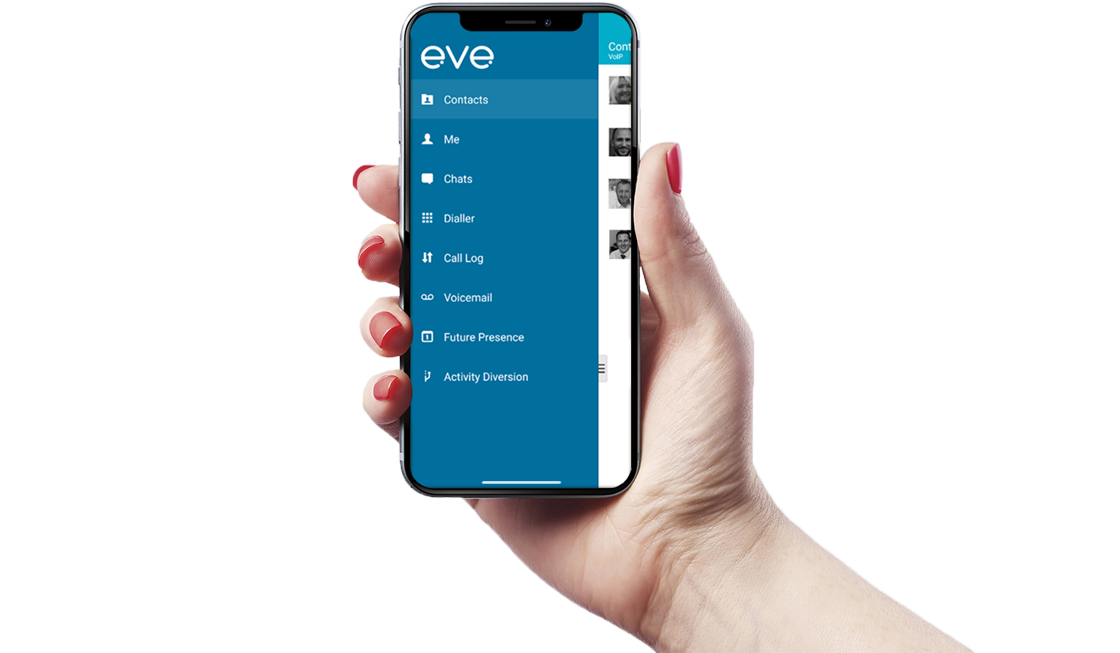Eve hosted voice app