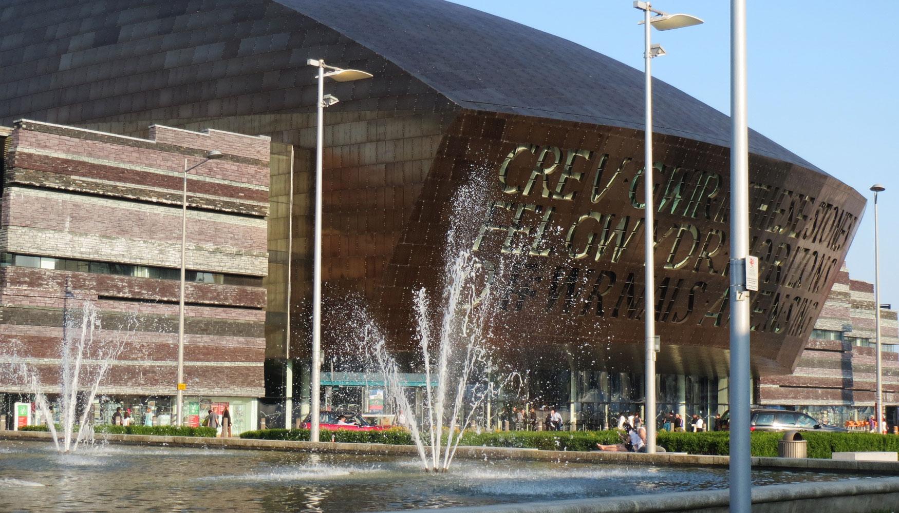 Wales millennium centre, Cardiff