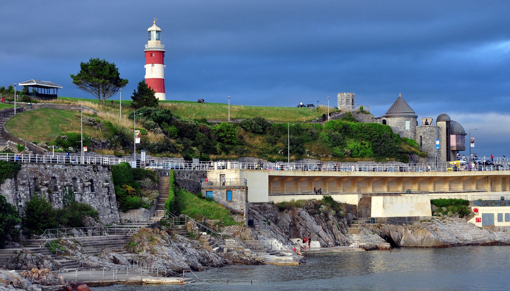 Plymouth seafront