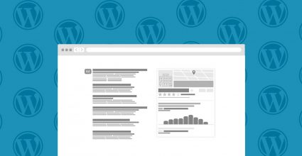 Multiple WordPress Logo's behind a web page