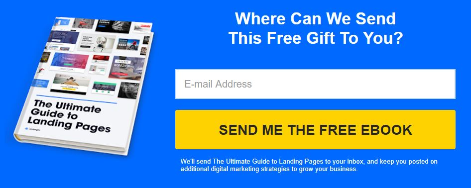 Example of The Ultimate Guide to landing pages