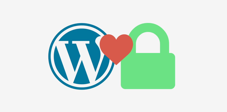 WordPress logo featuring HTTPS