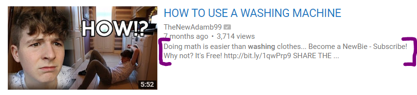 How to use a washing machine video on YouTube