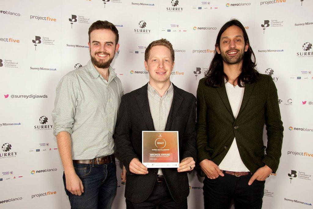 Our team receive a Bronze Award