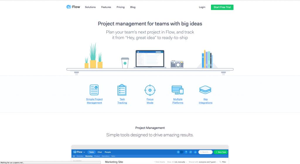 Flow Website