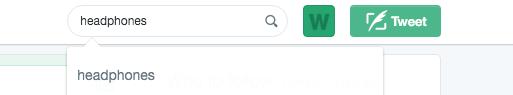 Headphone Keyword Search