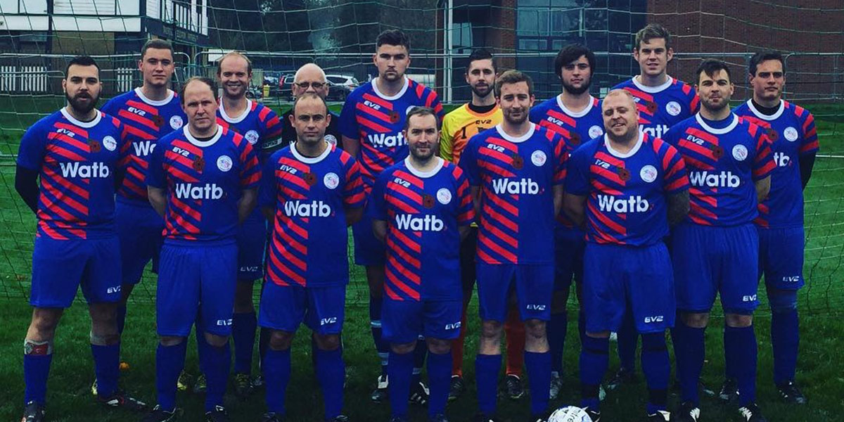 The Caterham Eagles footbal team