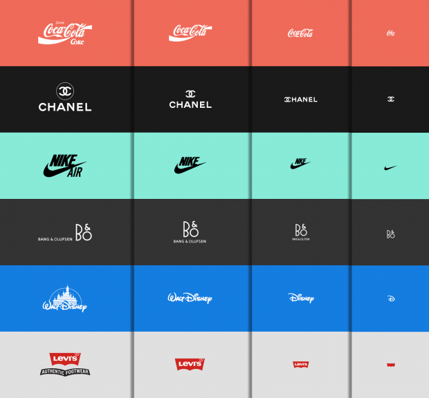 Responsive Logo examples