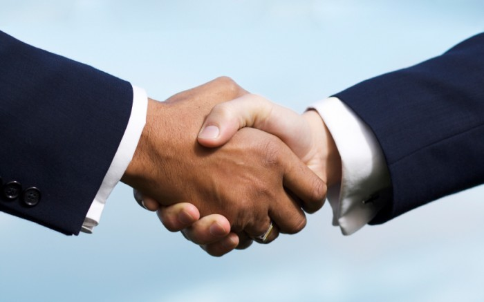 Closing the Deal hand shake