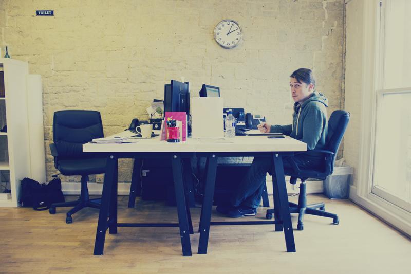 Watb New Office founders desks