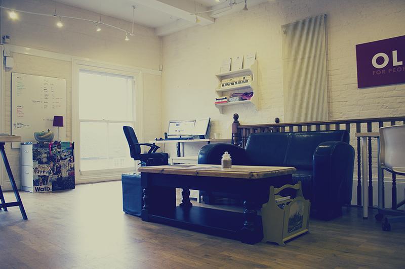 Watb New Office lounge area